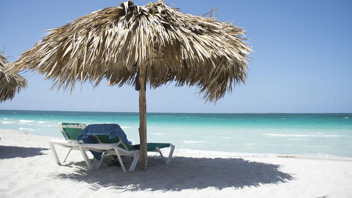 Hut On the Beach in Cayo Santa Maria