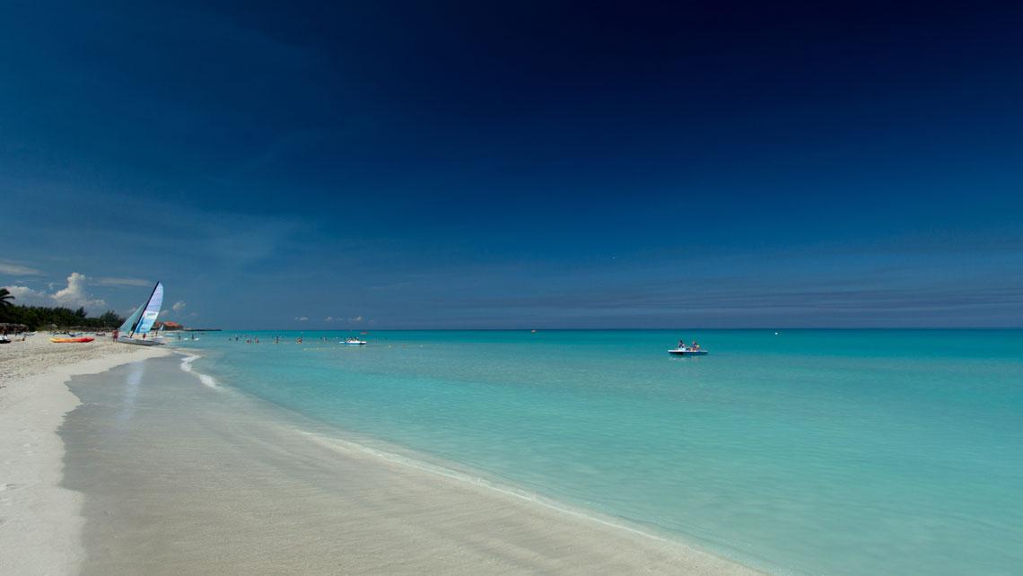 Scenic view of Varadero beach