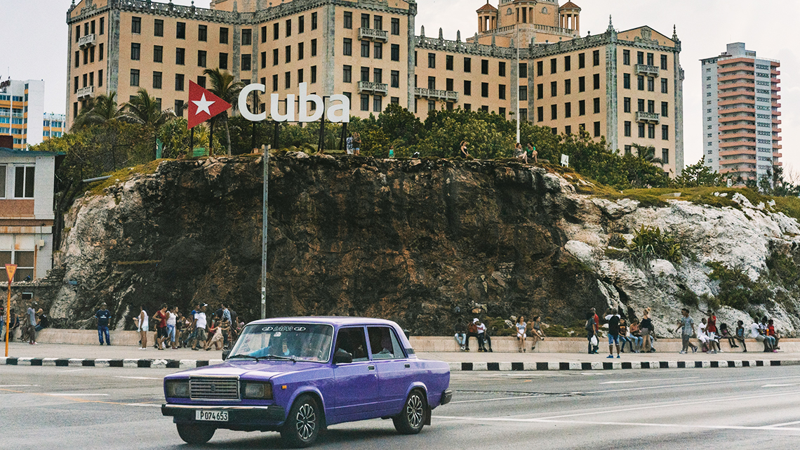 Cuba is known for its American cars but Soviet Ladas are really close to the Cuban heart