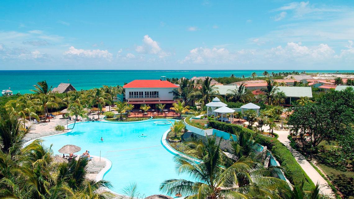 Panoramic view of hotel Melia Cayo Coco