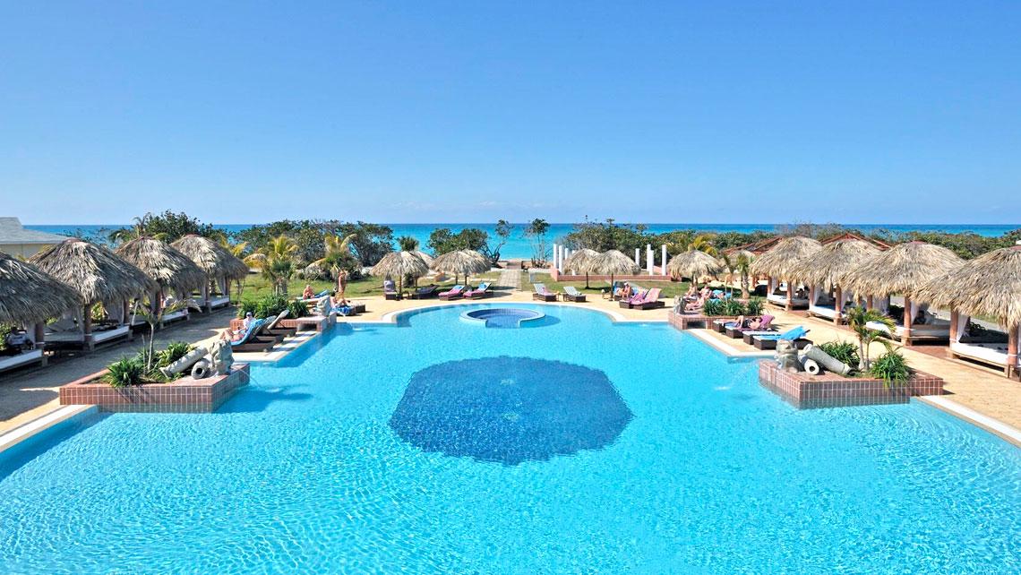 Panoramic view of the magnificent eco-resort Paradisus Varadero Resort &