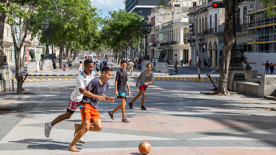 FIFA reports that football is gradually becoming Cuba's most popular sport