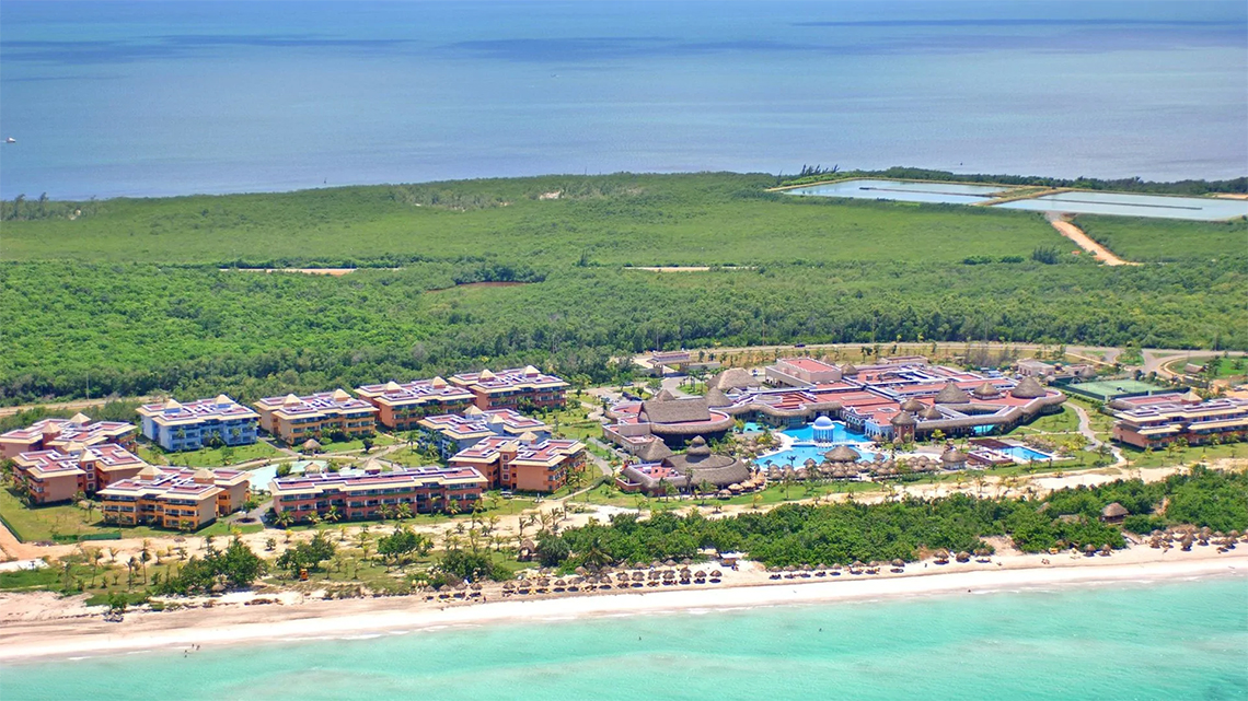 Iberostar Selection Varadero aerial view of the complex and the beach