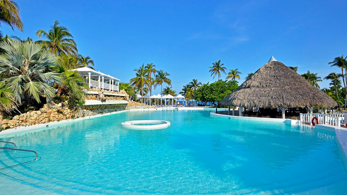 Swimming pool in Hotel Melia Varadero, Cuba