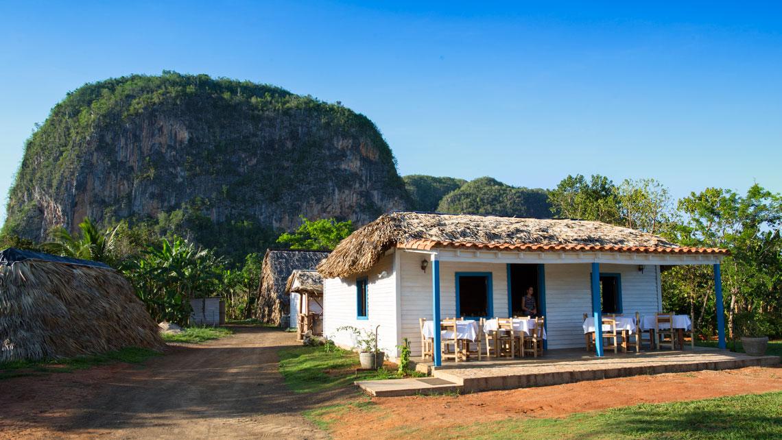 A rural house in Vinales Valley, Pinar del Rio