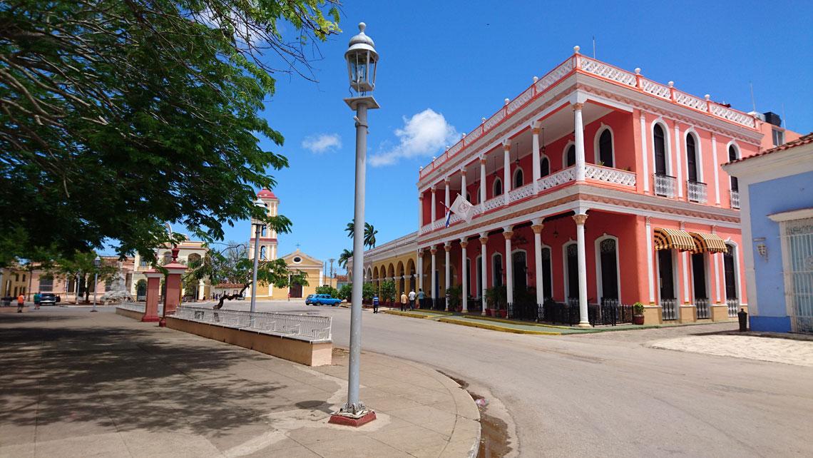 Colonial architecture  in Remedios, Villa Clara