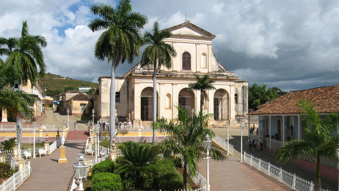 View of the old centre of Trinidad, Cuba