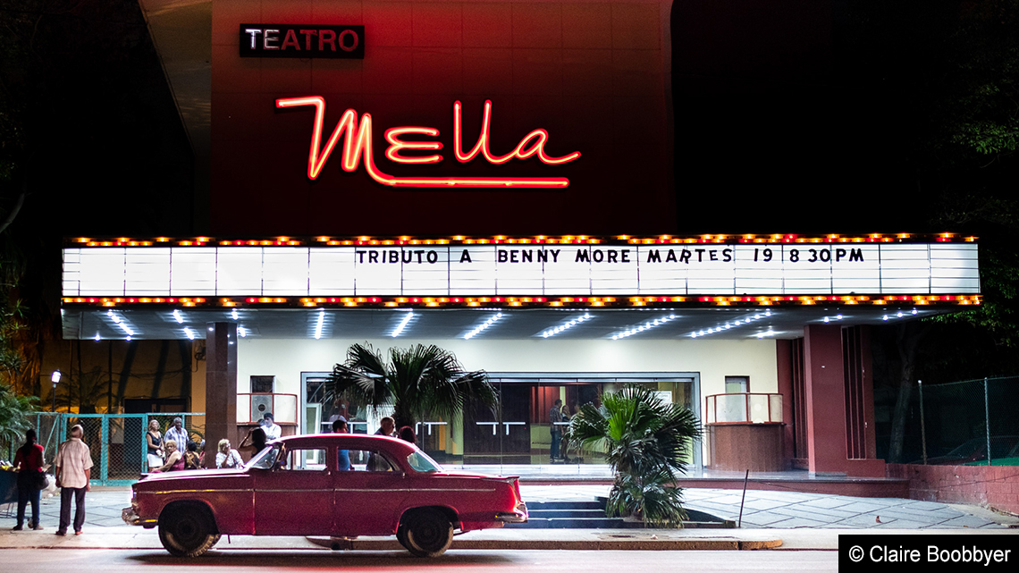 Photo of Mella theatre in Havana wins first prize at the LATA photography awards