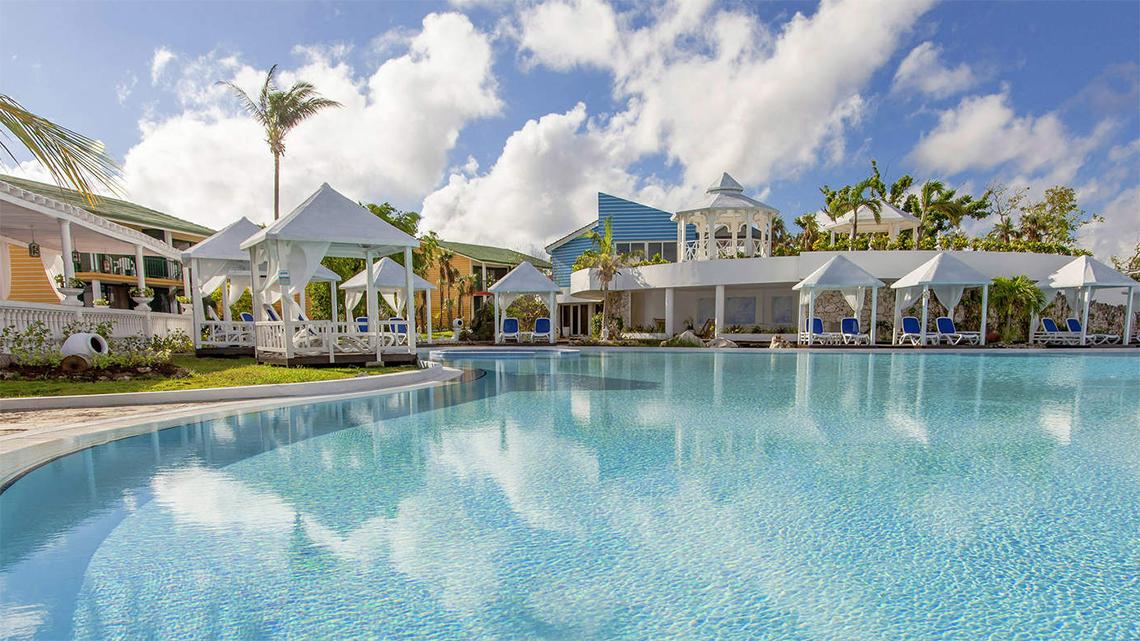 Luxurious scenario in Melia Cayo Coco, Cuba