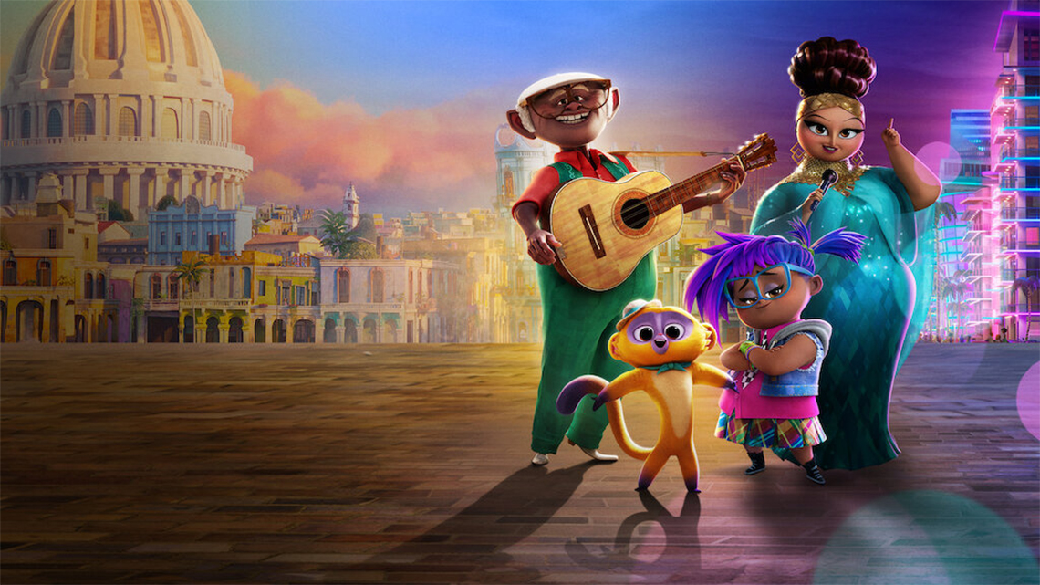 Netflix's new animated feature Vivo shares some incredible views and sounds of Havana