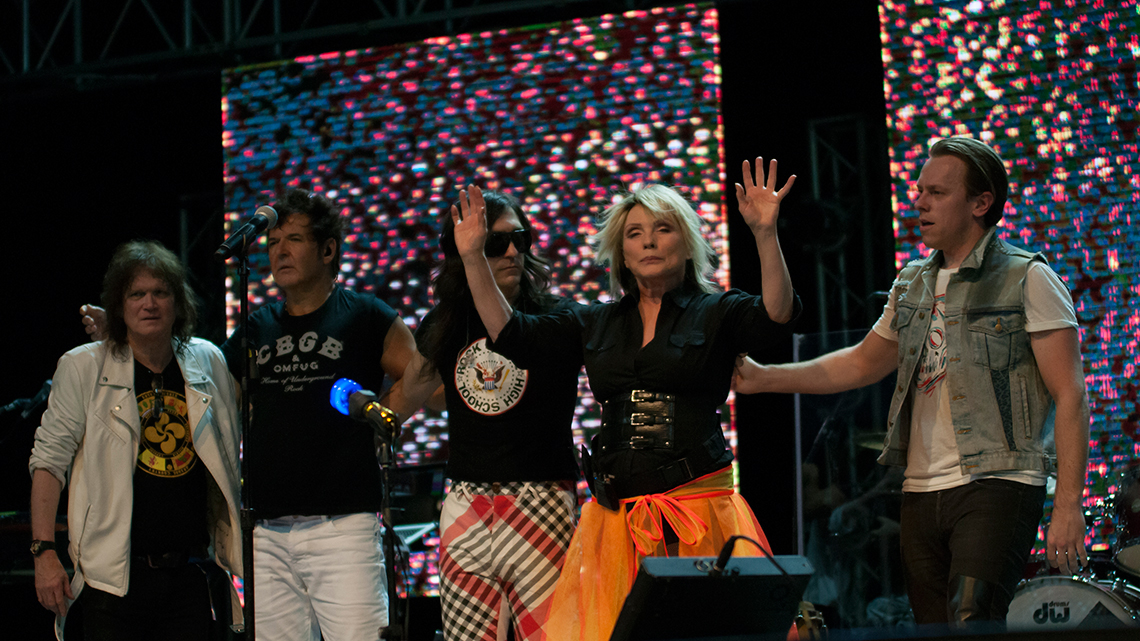 American rock band Blondie fulfil their ambition of visiting Havana, Cuba
